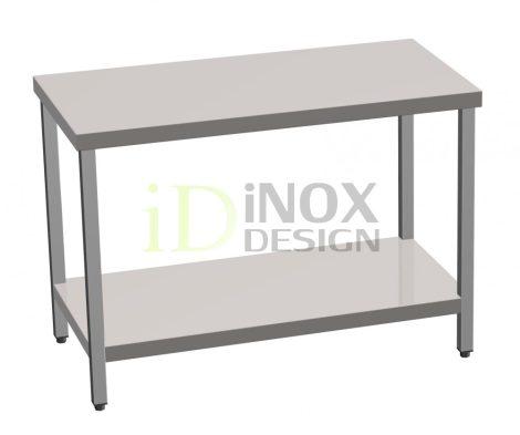 Munkaasztal alsó polccal - 600-as széria