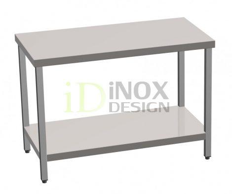 Munkaasztal alsó polccal - 700-as széria