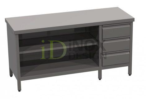 Tároló asztal fiókkal - 600-as széria