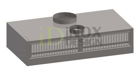 Fali elszívóernyő friss levegős és indukciós befúvással - 1100-as széria