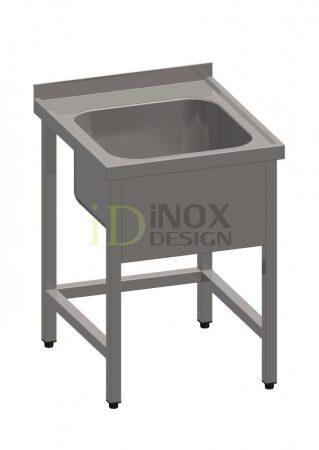 Egy medencés mosogató 400x400-as medencével