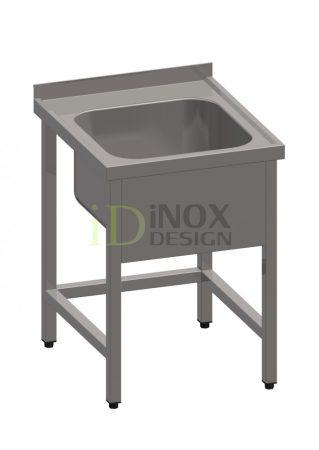 Egy medencés mosogató 500x500-as medencével